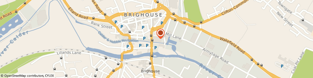 Route/map/directions to Sainsbury's, HD6 1PQ Brighouse, Mill Lane