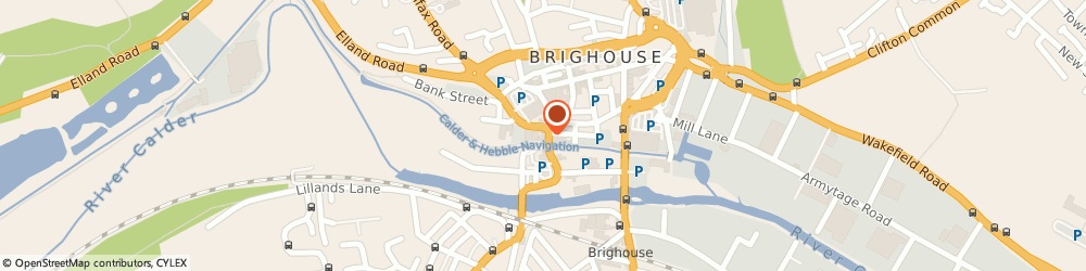 Route/map/directions to Enigma Hair & Beauty Salon, HD6 1EF Brighouse, 52 Briggate