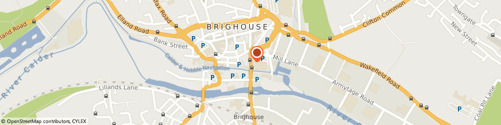 Route/map/directions to Prego Continental Restaurant, HD6 1JZ Brighouse, 14 Huddersfield Road