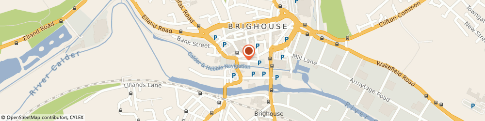 Route/map/directions to The Market Tavern, HD6 1JX Brighouse, 2 Ship Street