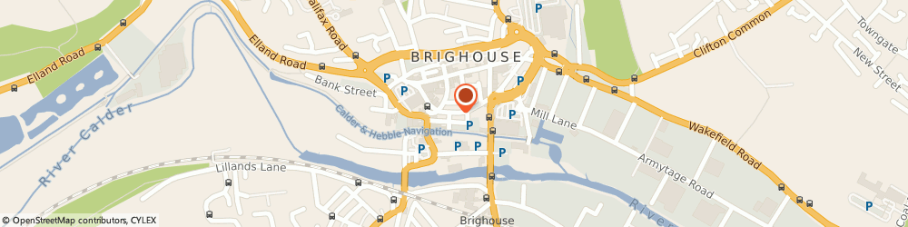 Route/map/directions to Cristaz Cafe Cafe Sandwich Bar, HD6 1JR Brighouse, 27A BETHEL STREET