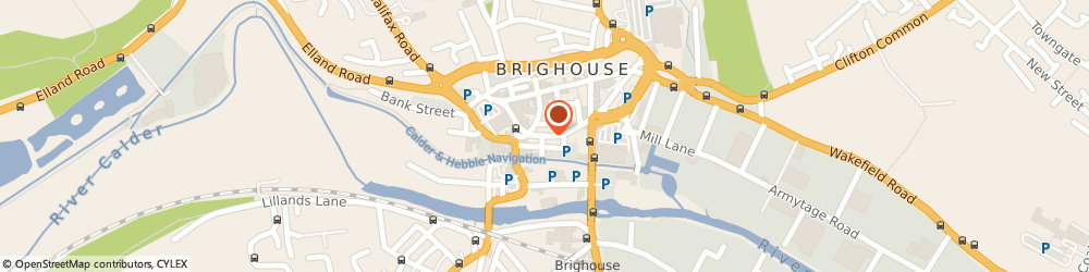 Route/map/directions to THE BRIGHOUSE SECRET TEA ROOMS LIMITED, HD6 1JR Brighouse, 31 Bethel Street
