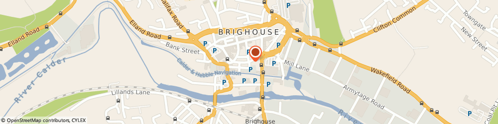 Route/map/directions to Taylors & Co, HD6 1JN Brighouse, 12, Bethel St