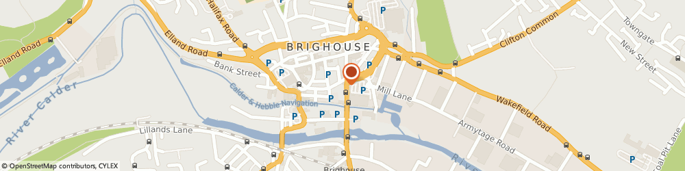 Route/map/directions to Bengal Brasserie, HD6 1JZ Brighouse, 6 Huddersfield Road