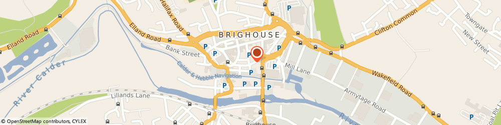Route/map/directions to Whitegates, HD6 1JN Brighouse, 4-6 BETHEL STREET