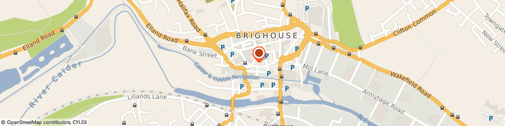 Route/map/directions to HSBC Bank, HD6 1AR Brighouse, 23 Market Street