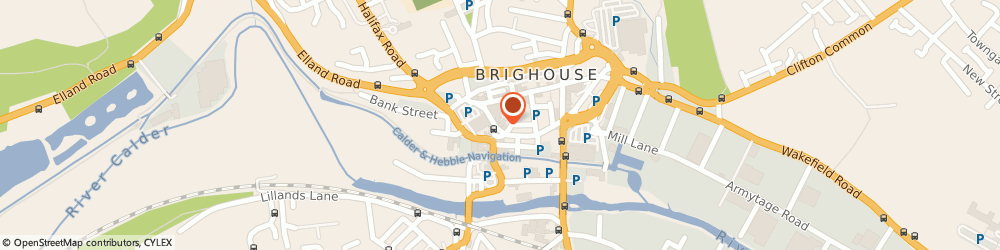 Route/map/directions to Barclays Bank, HD6 1EB Brighouse, 21 Briggate