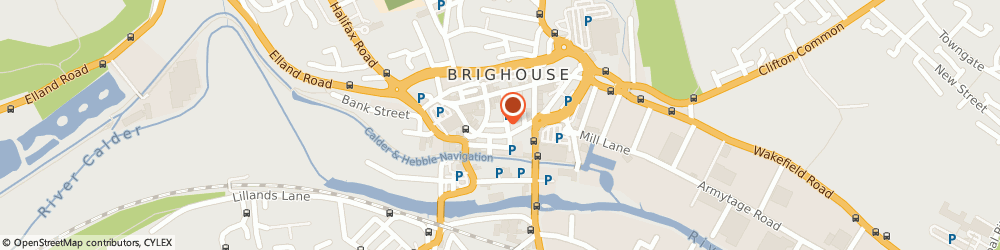 Route/map/directions to Physiotherapy Works Elland, HD6 1DU Brighouse, 4 West Park Street