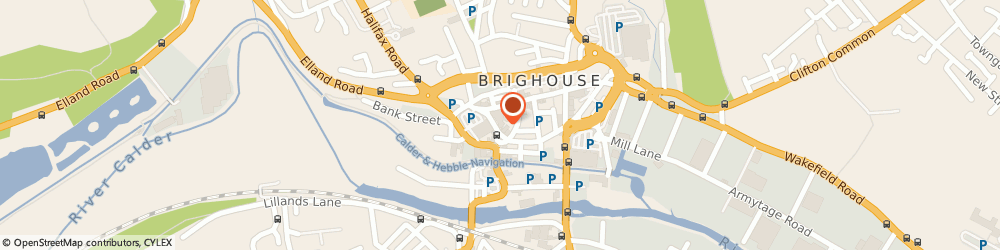 Route/map/directions to Mark Riley Hairdresser, HD6 1DN Brighouse, Briggate, Wellington House, Wellington Arcade