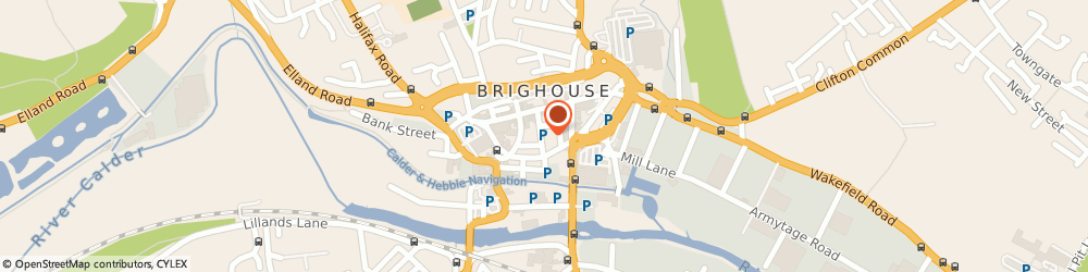 Route/map/directions to Moorhouse Opticians (Northern) Ltd, HD6 1JH Brighouse, 11 CHAPEL COURT