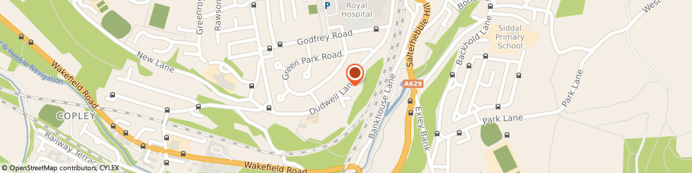 Route/map/directions to J Appleyard, HX3 0SH Halifax, 85 DUDWELL LANE
