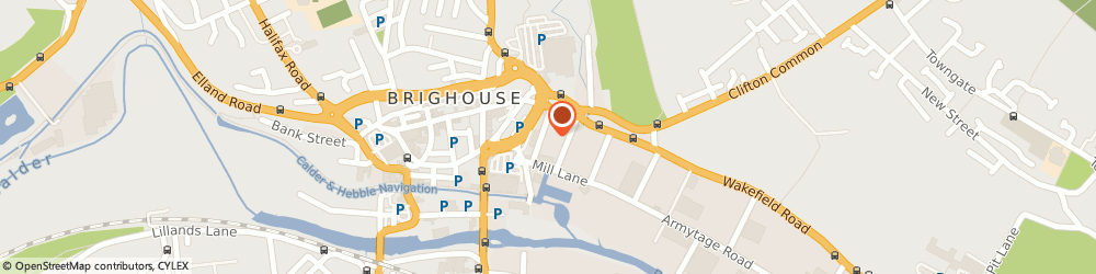 Route/map/directions to Bellini's Italian Restaurant, HD6 1PD Brighouse, 25 Phoenix St