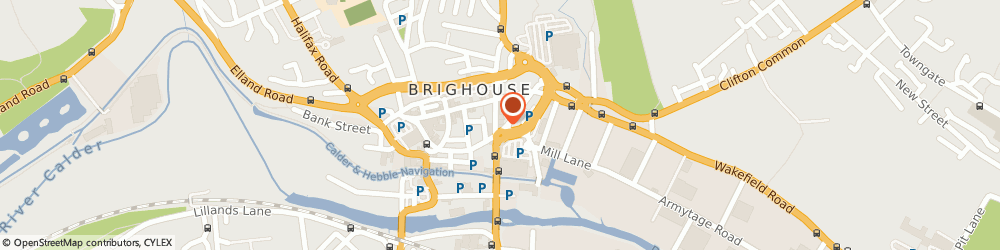Route/map/directions to Direct2Mum, HD6 1RW Brighouse, 2 Bradford Road
