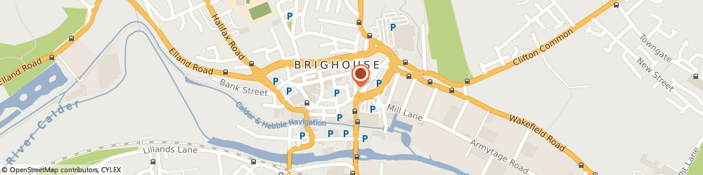 Route/map/directions to Edward & Co, HD6 1RW Brighouse, 11 Bradford Rd