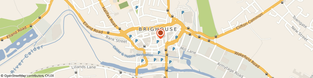 Route/map/directions to Renny Taylor, HD6 1JL Brighouse, 19, Park St