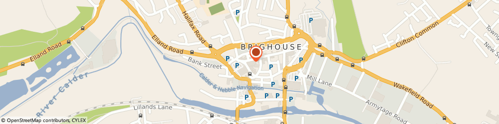 Route/map/directions to No1 Currency - Cash Brokers, HD6 1AF Brighouse, 63 Commercial Street