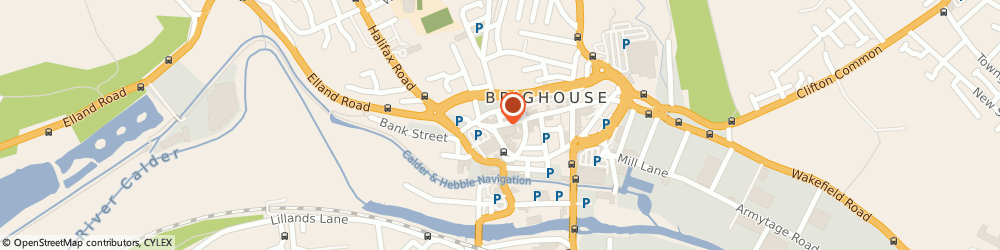 Route/map/directions to A P Sparrow Ltd, HD6 1AQ Brighouse, 96 COMMERCIAL STREET