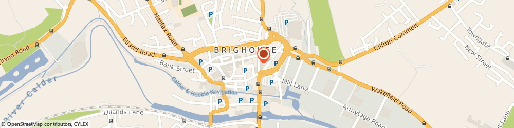 Route/map/directions to John Ayrton & Cornwell Solicitors, HD6 1RW Brighouse, 19, Bradford Road