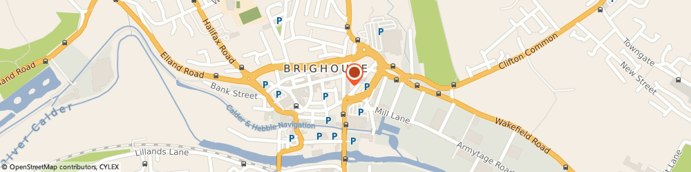 Route/map/directions to NatWest - BRIGHOUSE, HD6 1RL Brighouse, 12 Bradford Road
