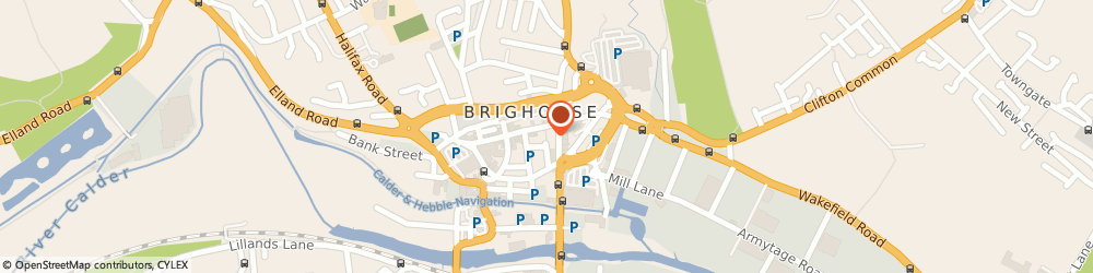 Route/map/directions to Simply Flowers, HD6 1AF Brighouse, 3A Commercial St