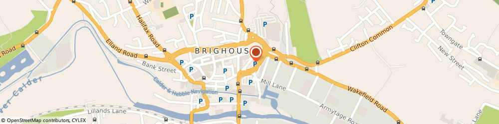 Route/map/directions to Brighouse Health Centre, HD6 1NY Brighouse, Brighouse Health Centre, Lawson Rd