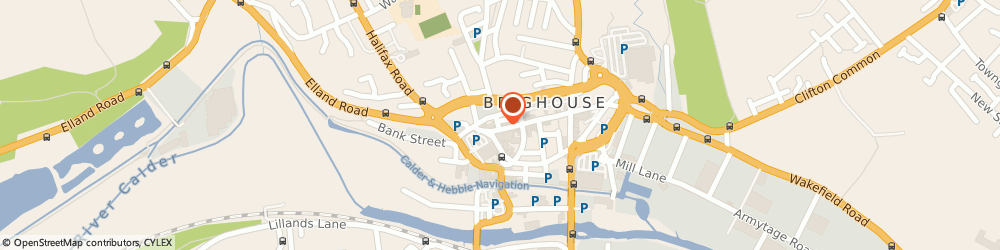 Route/map/directions to Websters (Brighouse) Ltd, HD6 1AQ Brighouse, 84-94 Commercial St