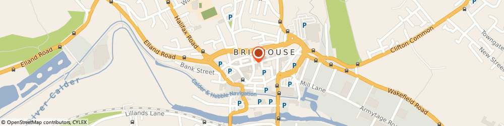 Route/map/directions to Peter David Properties Brighouse, HD6 1AQ Brighouse, 102 Commercial Street