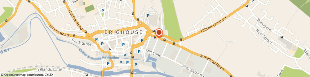 Route/map/directions to PlumbaseWeb Brighouse, HD6 1PF Brighouse, 1 Phoenix Court Wakefield Road