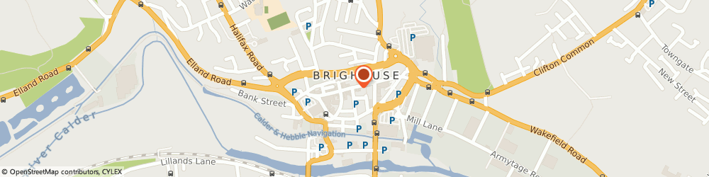 Route/map/directions to Travelcare, HD6 1AF Brighouse, 21 Commercial Street