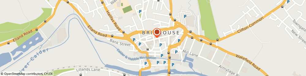 Route/map/directions to Daniel & Hirst, HD6 1AQ Brighouse, 110 Commercial Street