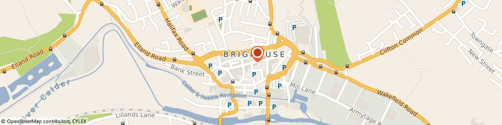 Route/map/directions to VILLAIN BAR LTD, HD6 1AQ Brighouse, 80A Commercial St