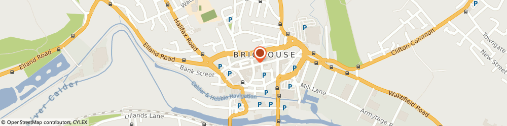 Route/map/directions to Domino's Pizza - Brighouse, HD6 1AQ Brighouse, 76 Commercial Street