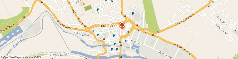 Route/map/directions to BANK OF SCOTLAND ATM - Brighouse, HD6 1RW Brighouse, 35 Bradford Road