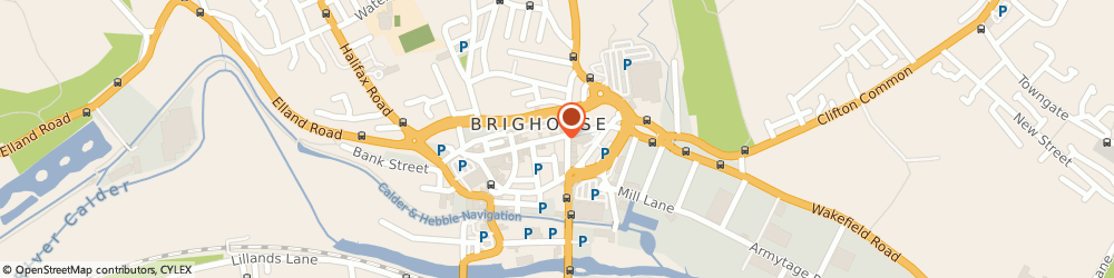 Route/map/directions to Vets4Pets, HD6 4DH Brighouse, 3 Bradford Road