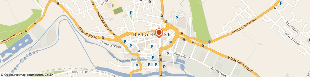 Route/map/directions to Johnson cleaners, HD6 1AF Brighouse, 13 Commercial Street