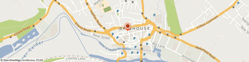 Route/map/directions to The Mushroom, HD6 1AT Brighouse, Gooder Street Brighouse