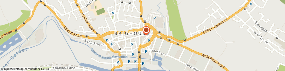 Route/map/directions to Brearleys Solicitors, HD6 1NX Brighouse, 12 King Street