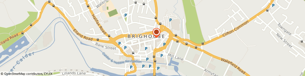 Route/map/directions to The George Hotel, HD6 1AQ Brighouse, 2 Commercial Street