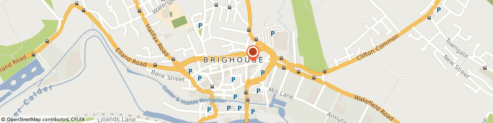 Route/map/directions to M & A Locksmith, HD6 1RW Brighouse, 28 Bradford Rd