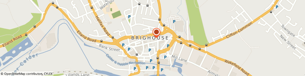 Route/map/directions to The Hatch, HD6 1DA Brighouse, 39 Ganny Rd
