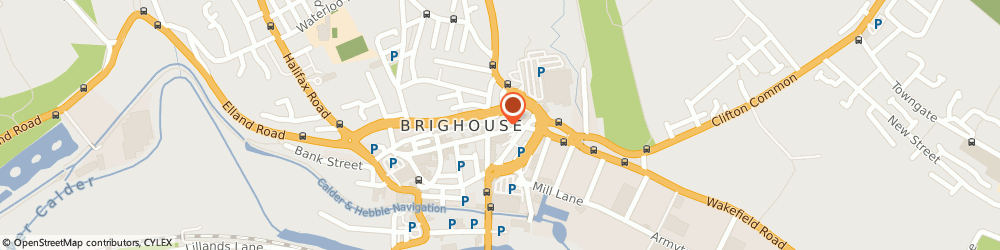 Route/map/directions to Fultons, HD6 1NX Brighouse, 17-27 King Street