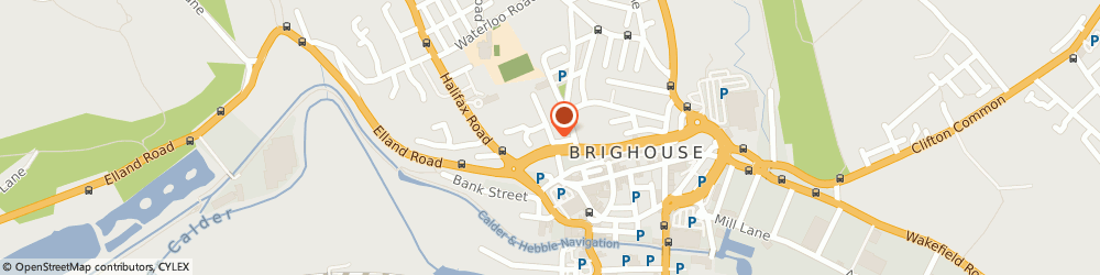Route/map/directions to Alcoholics Anonymous, HD6 1AQ Brighouse, Parsonage Lane