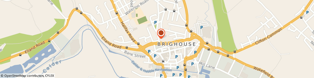 Route/map/directions to DPD Parcel Shop Location - Rowlands Pharmacy, HD6 1AT Brighouse, 35 Church Lane