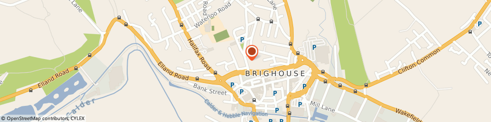 Route/map/directions to ROWLANDS PHARMACY Brighouse, HD6 1AT Brighouse, 35 Church Lane
