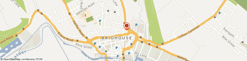 Route/map/directions to The New Great Wall Chinese Restaurant, HD6 1RY Brighouse, 44, Bradford Road