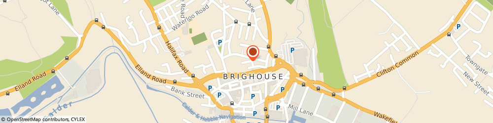 Route/map/directions to SARAHP LIMITED, HD6 1DD Brighouse, Street Well Close
