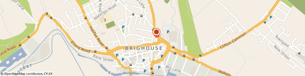 Route/map/directions to Thai Sawaddee, HD6 1RS Brighouse, 59 Bradford Rd