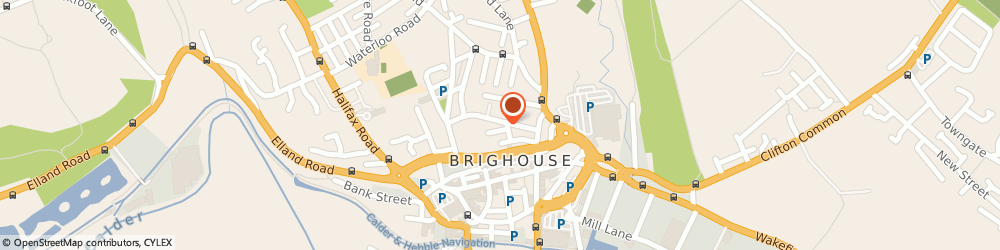 Route/map/directions to Dave Utley Wedding Filming & Production, HD6 1DE Brighouse, 44 High Street