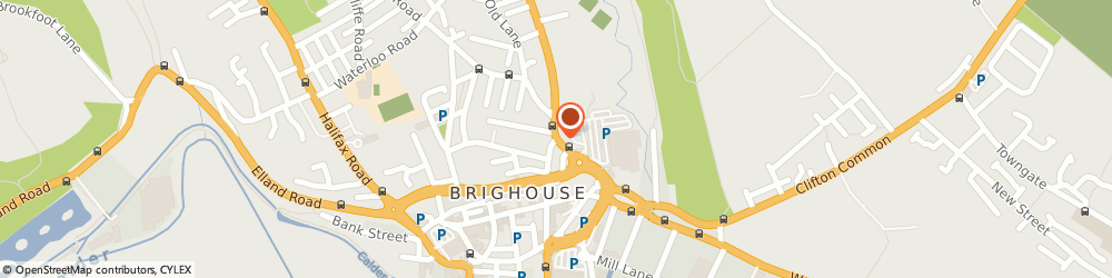 Route/map/directions to Chambers Company Solicitors, HD6 1RR Brighouse, 71 BRADFORD ROAD