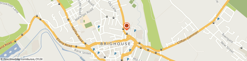Route/map/directions to T & R Motors, HD6 1RT Brighouse, Unit 2, Upper Bonegate